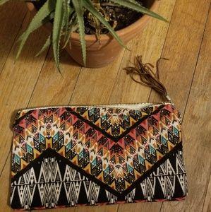 NEW Handmade Colorful Zipper Clutch/Bag